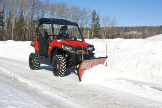 BOSS UTV Snowplow