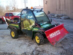 Micheal Berg BOSS UTV Snow Plow