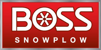 THE BOSS SNOWPLOW Logo