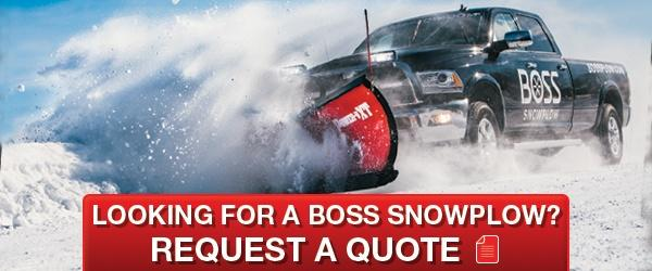 BOSS Snowplow Request A Quote